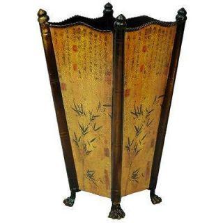 Oriental Furniture Bamboo Accent Umbrella Stand