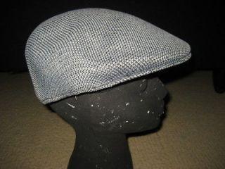 DOCKERS Mens Tweed DRIVERS Cabbie Gatsby Gray / Black Mens CAP Hat Sz