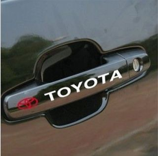 FANTASTIC CAR HANDLE STICKERS FOR TOYOTA CAR STICKER CAR STICKER DECAL