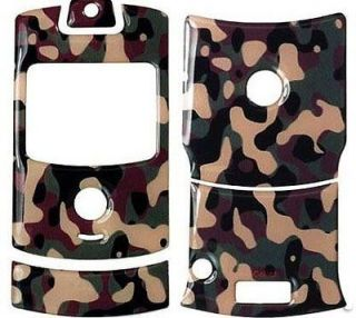 CAMOUFLAGE CAMO DECAL SKIN TATTOO SCREEN PROTECTOR FOR MOTOROLA RAZR