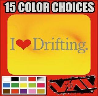 Love Drifting vinyl sticker decal JDM Formula D D1 Grand Prix Apex