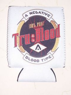 TRU BLOOD DRINK BREW ** STUBBIE COOLER ** V JUICE TRUE