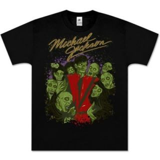 MICHAEL JACKSON Thriller Zombie T Shirt Official Large