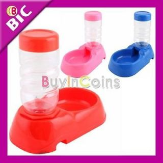 Refilled Pet Dog Cat Water Drinking Fountain Bottle New