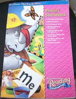 Phonics Source Book Primary Reading Resources Leer Word Cards