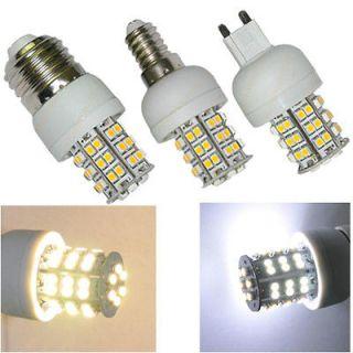 E27 E14 G9 Warm / Pure White 48 3528 SMD LED Spotlight Spot Home Light