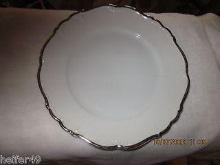 Edelstein Bavaria Maria Theresia Platin Tasco #17325 Salad Plates (4