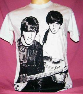 THE BEATLES John Lennon&Paul McCartney men women t shirt size S