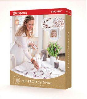 5D Professional + Bonus  Suite Embroidery Software Pro Digitizing