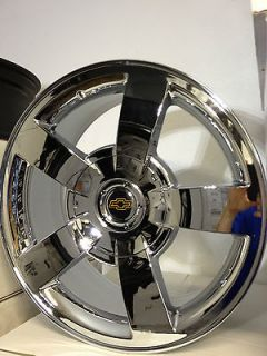 22 Inch Chevrolet Silverado SS Chrome Factory OE Replica Wheels Rims