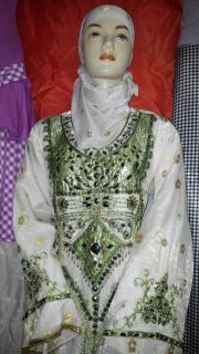 Khaleeji Dubai Wedding Jilbab galabaya dress abaya Thobe Arabic Kaftan