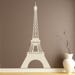 Eiffel Tower Paris France Around the World Wall Sticker Art Decal