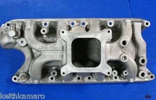 EDELBROCK TORKER II 5021 FORD SMALL BLOCK INTAKE MANIFOLD 260 302