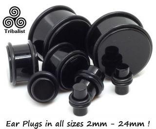 Ear Plug Stretcher Expanders 2mm  24mm O Rings Flesh Gauge Earring
