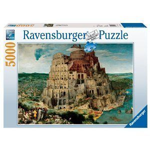 Ravensburger The Tower of Babel   5000 Piece Puzzle