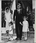 Pictorial Biography John F Kennedy Family 42 photo Complete Set Box