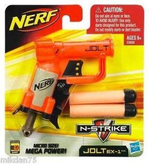 Hasbro Nerf N Strike Jolt EX 1 Blaster Toy Gun