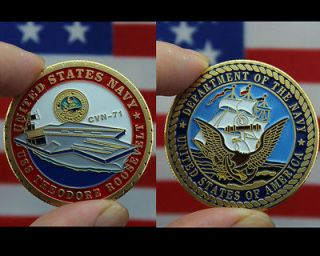 Commemorative Coins  Navy Theodore Roosevelt CVN 71 #460