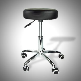 Black Stool Salon Spa Tattoo Equipment Medical Chair Facial Beauty