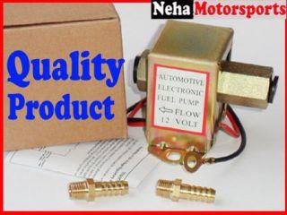 12v Electric Fuel Pump Universal Fittings 8mm Hose Diesel Petrol CAR