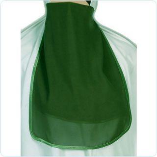 Green Half niqab veil burqa islamic clothes muslim eid