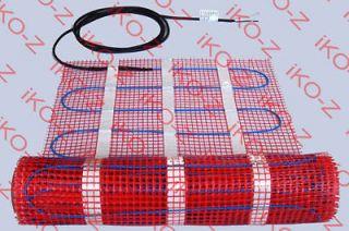 RADIANT ELECTRIC WARM FLOOR HEATING SYSTEM 60sqft 120V