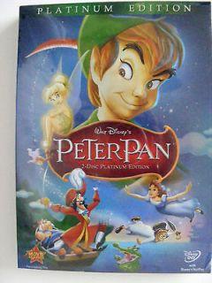 Walt Disneys   Peter Pan (DVD, 2007, 2 Disc Set, Platinum Edition)