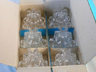 Nachtmann Bleikristall Glass/Crystal Candleholders   Set of 6 NEW IN