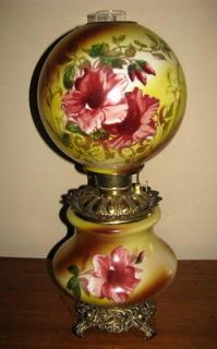 Fantastic Gone with the Wind Lamp ~ All original parts ~ 70 100 Years