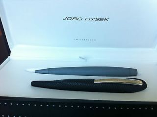 Jorg Hysek pen with box   grey Kim model   Brand new and with its box