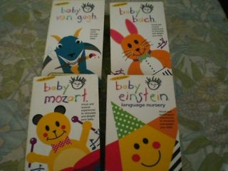 BABY EINSTEIN VHS SET OF 4