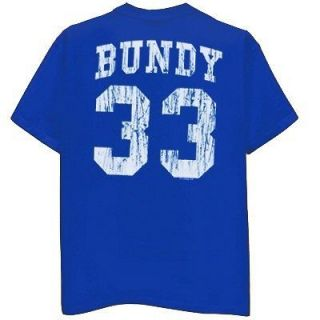 AL BUNDY Polk High T Shirt Married with Children 2XL blue