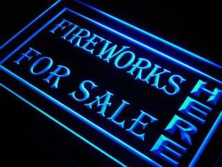 Newly listed j979 b Fireworks For Sale Here Display neon Light Sign