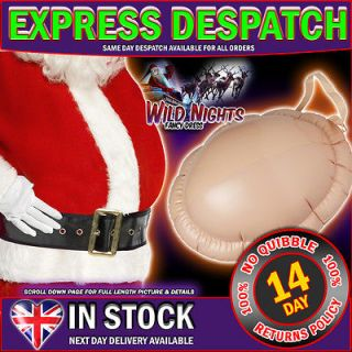 CHRISTMAS FANCY DRESS # SANTA INFLATABLE BIG BELLY