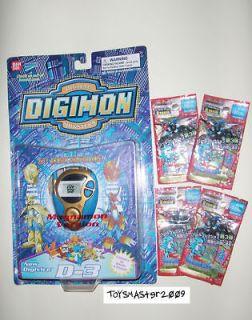 DIGIMON DIGIVICE 02 Gold Blue D 3 Flamedramon Version 1.0 NEW Last