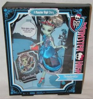 Monster High Scary Tales Frankie Stein as Threaderella! Bnib!!