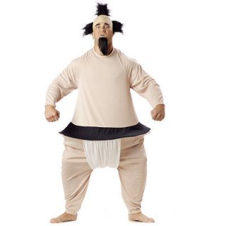 Sumo Wrestler Adult Costume fatsuit,fat suit,wrestling,hoop,hoop