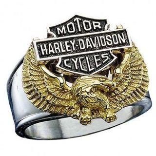 Harley Davidso n® Wings of Freedom Mens Ring SZ 9 from Franklin Mint