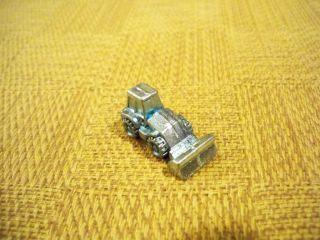 Monopoly Metal / Pewter Wheel Loader Construction Game Piece / Token