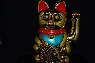 10 Feng Shui Hand Waving Maneki Neko Lucky Cat