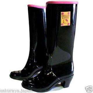 Hello Kitty Long Rainboots Rain Shoes Boot Umbrell Raincoat Sanrio
