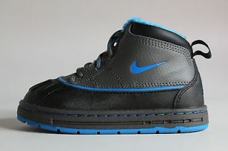 Nike Woodside ACG Grey Black Blue Authentic Toddler Size TD Baby Boots