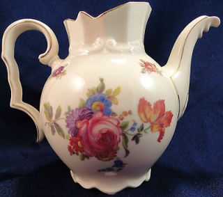 Vintage Rosenthal Selb Germany JDeal Tea Pitcher   No Lid