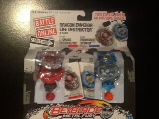 NEW BEYBLADE METAL FURY L DRAGO DESTRUCTOR/FOR BIDDEN STRIKER