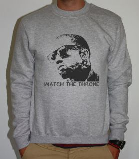 KANYE WEST JAY Z WATCH THE THRONE THAT SH*T CRAY BALL SO HARD SWEATER