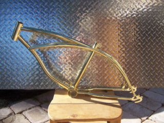 ON SALE WELL THEY LAST 20 GOLD Lowrider Bicycle Frame Cycling Bike