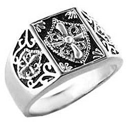 knights templar ring in Mens Jewelry