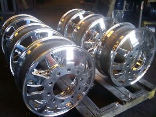 CUSTOM CUT 24 DUALLY WHEELS SLICE & ACCESSORIES 22, 22.5, 24.5