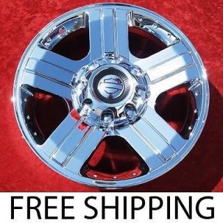 NEW CHROME 20 FORD F 250 F 350 OEM FACTORY WHEELS RIMS EXCHANGE 3605