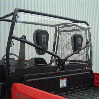 Honda Big Red MUV Rear Full Window Back Panel Shield Dust Stopper